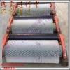无动力滚刷清扫器水泥厂尼龙毛刷辊钢厂皮带输送机被动毛刷清扫器